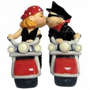 how to register for honeymoon money bikers motorcycle wedding cake topper figurine