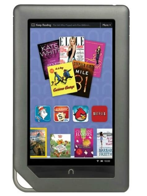 Nook Color Barnes And Noble by Barnes Noble S Nook Color Welcomes Netflix Comics And