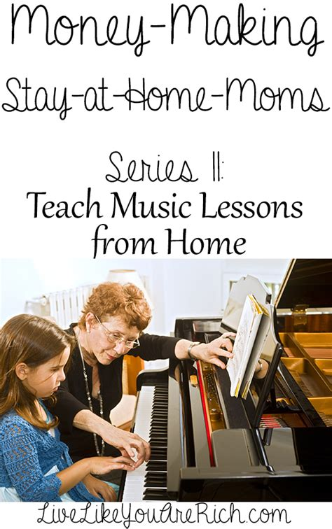 How To Teach Music Lessons From Home  Live Like You Are Rich
