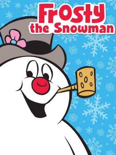 amazoncom snowman christmas frosty the snowman jackie vernon jimmy