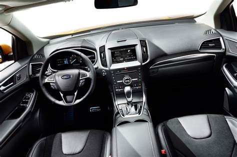 ford edge interior 2015 edge sport 315hp priced at 38k