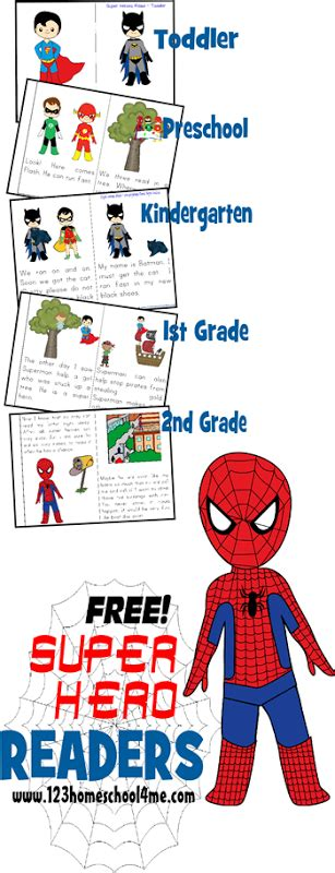super hero reader books limited time