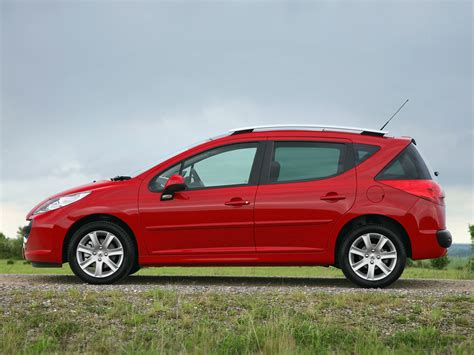 amazing peugeot 207 sw 2007 peugeot 207 sw pictures information and specs