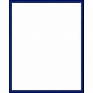 Cadre Photo Sur Mesure : cadre aluminium bleu sur mesure avec plexiglas et dos sur ~ Dailycaller-alerts.com Idées de Décoration