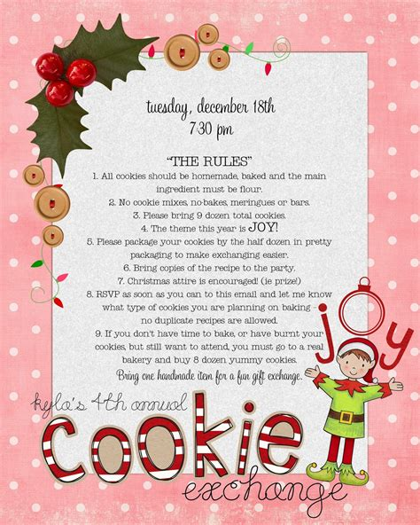 cookie exchange rules funky polkadot giraffe cookie exchange tips and tricks