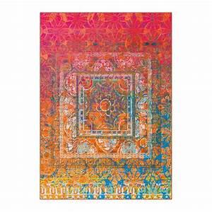 tapis arte espina quotantiguaquot rouge With arte espina tapis