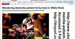 """Had a Dad"" Alzheimer's Blog: dementia patient hit by train"