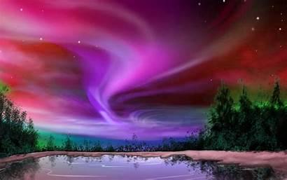Aurora Fondo Boreal Auroras Pantalla Fondos Wallpapers