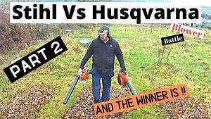 Husqvarna Vs Stihl : stihl bg 86c vs husqvarna 525bx blowers and the winner is ~ A.2002-acura-tl-radio.info Haus und Dekorationen