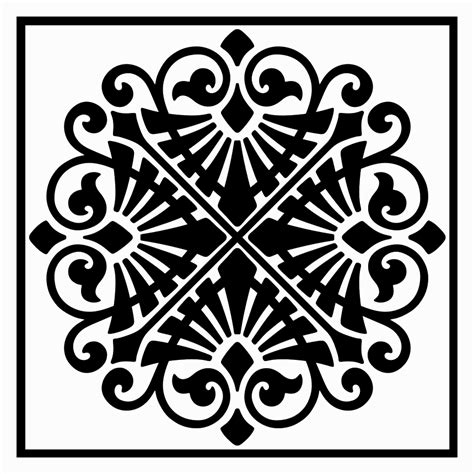 ancient greek ornamental panel