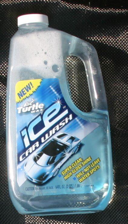 turtle wax ice wash