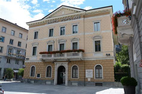 Popolare Sondrio Azioni Valtellina News Notizie Da Sondrio E Provincia 187 La