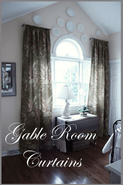 gable room curtains stonegable