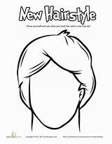 Coloring Hairstyle Anime Hairstyles Salon Cool Paper Drawing Doll Face Education Getdrawings Getcolorings Draw Printable Styles sketch template