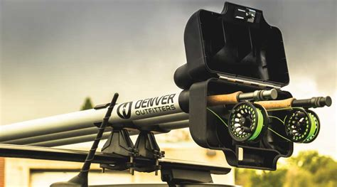 fly rod car rack fly fishing rod carrier the rod vault from denver outfitters