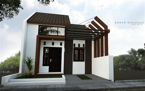 lihat desain rumah sederhana tapi mewah contoh gambar
