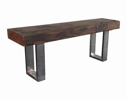 Bench Wood Reclaimed Rustic Modern Chairish