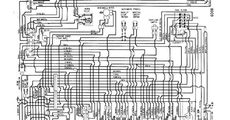 auto wiring diagram  chevrolet corvair wiring