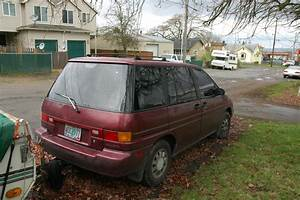 Old Parked Cars   1990 Nissan Axxess