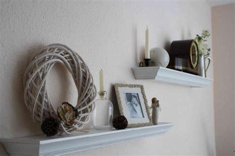 deko wohnzimmer regal