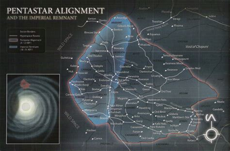 Star Wars Imperial Remnant Map