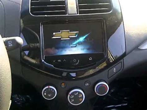 2013 Chevrolet Spark Plays Movies on the Radio - YouTube