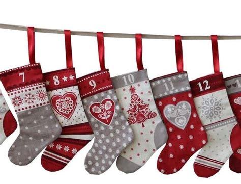 christmas stocking bunting