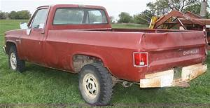1983 Chevrolet K20 Deluxe Pickup Truck In Spring Hill  Ks