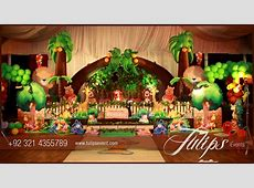 Jungle Animals Theme Party Decoration Ideas in Pakistan