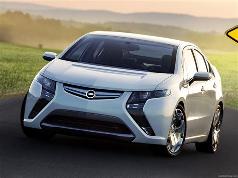 Opel Ampera Picture # 02 Of 33, Front Angle, My 2012
