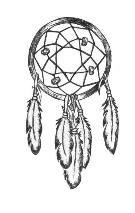 Easy Dreamcatcher Drawing at GetDrawings | Free download