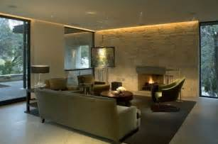 steinwand wohnzimmer pflege 2 wall lighting ideas suited to modern living rooms