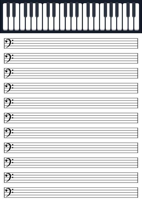 10 Best Printable Blank Note Sheets - printablee.com