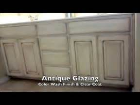 Diy Glazed Cabinets by Faux Paint Finish Walls And Antique Glaze Cabinets