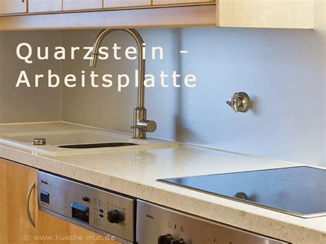 Arbeitsplatten Quarzstein Und Alurueckwand Neu Für Ikea
