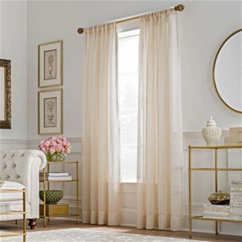 gold sheer curtains buy gold sheer curtains from bed bath beyond
