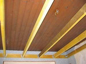 Faire Un Faux Plafond : faux plafond bois suspendu accueil design et mobilier ~ Premium-room.com Idées de Décoration