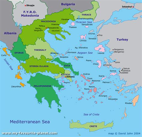 greece map maps  greece pinterest interactive map