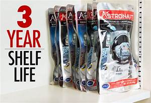 Astronaut Ice Cream: Freeze-dried ready-to-eat space food