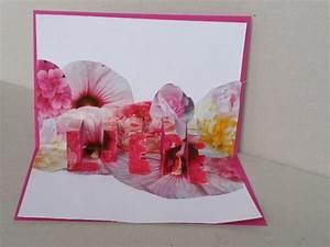 Pop Up Karte : diy zum valentinstag pop up karte basteln handmade kultur ~ Markanthonyermac.com Haus und Dekorationen