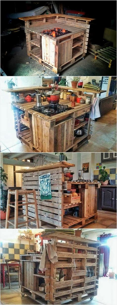 creative ways  recycle wood pallets