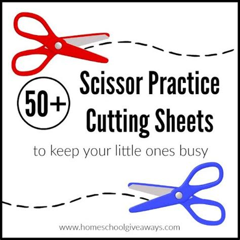 50 scissor practice cutting sheets to keep your 225 | scissorpractice