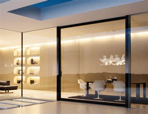 cloison verre cuisine cloison coulissante en verre ou bois pour la maison moderne