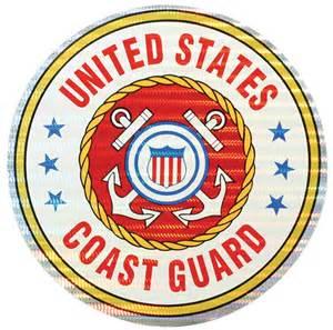 US Coast Guard 3″ Prism Sticker