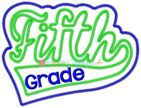 Fifth Grade Applique  Creative Appliques