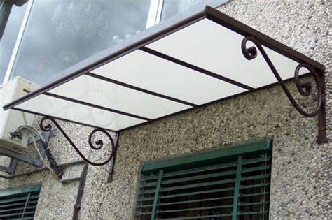 tettoie in policarbonato fai da te pensiline e tettoie in acciaio inox legno ferro
