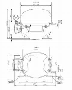 Compressor Hermetic Piston Area Ne6188cz