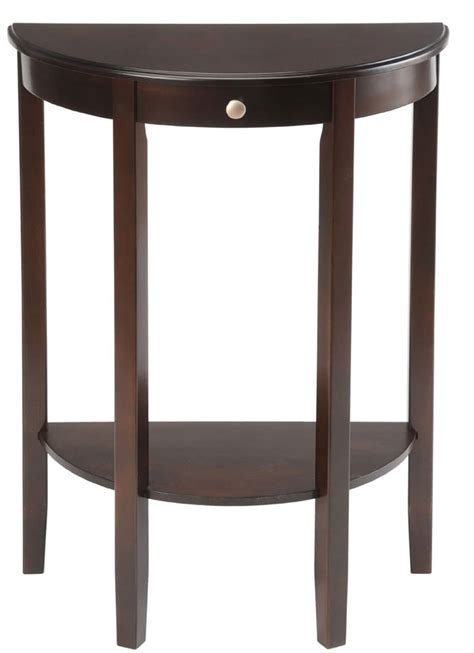 Circle Table by Bay Shore Half Circle Console Table In Accent Tables