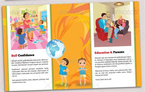 Free Education Brochure Templates Educational Brochure Templates Www Imgkid The