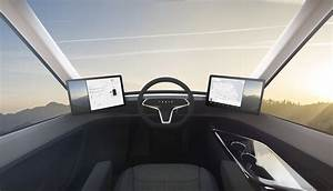 2020-tesla-semi-truck-interior - The Fast Lane Truck